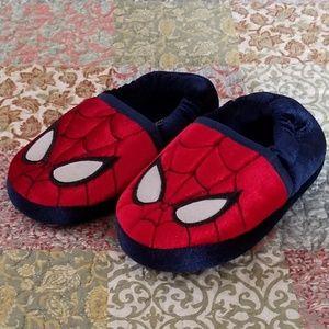 Spiderman Slippers Navy/Red/Black/White Toddler